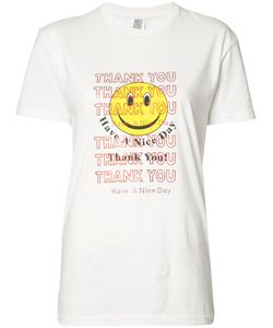 Rosie Assoulin | Thank You Smiley Face T-Shirt Size Small