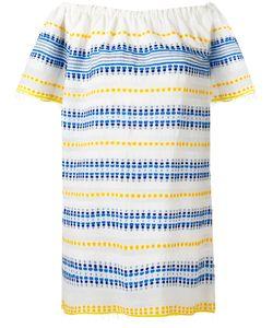 Lemlem   Striped Off-Shoulder Dress M