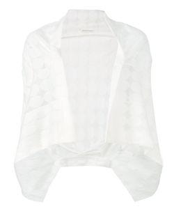 Y's   Circle Pattern Draped Cardigan Size