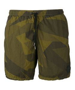 Hydrogen | Camouflage Swim Shorts Large