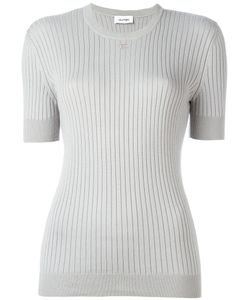 Courrèges | Ribbed Knit T-Shirt Size 4