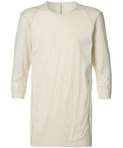 Devoa   Three-Quarter Sleeve T-Shirt 3 Cotton