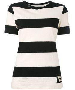 Yohji Yamamoto   Striped Short Sleeve T-Shirt
