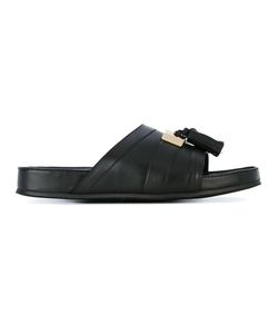 Balmain | Tassel Plaque Sandals 40