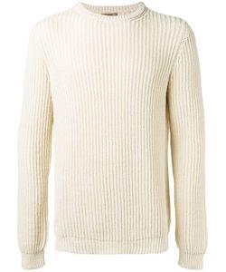 Nuur | Ribbed Detail Jumper 52 Cotton/Nylon