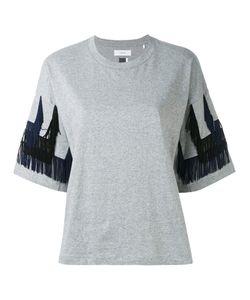 Facetasm | Fringed Trim T-Shirt 1
