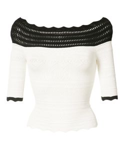 Yigal Azrouel | Off-Shoulder Crochet Top Women