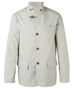 Fay | Buttoned High Collar Jacket Size Xxl