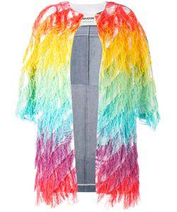 Ava Adore | Patched Denim Tassel Jacket