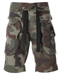 Faith Connexion   Camouflage Bermuda Shorts Size Medium