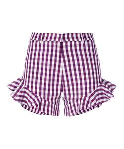 House Of Holland | Gingham Ruffle Shorts