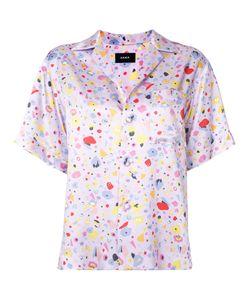 G.V.G.V. | Satin Shortsleeved Shirt 34 Rayon