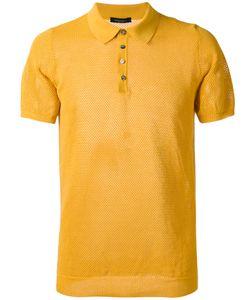 Roberto Collina | Textured Polo Shirt Size 50