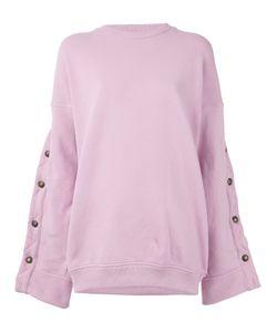 Y / Project | Buttoned Sleeves Sweatshirt Women