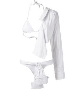 Amir Slama   Camisa Bikini Set G Elastodiene