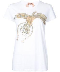 No21   Sequined Bird T-Shirt