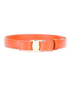 Salvatore Ferragamo | Bow Front Belt Size Leather/Metal Other