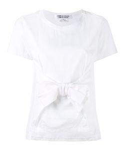Comme Des Garçons Comme Des Garçons   Bow Front T-Shirt