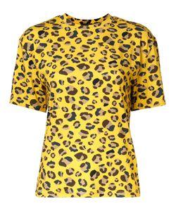 G.V.G.V. | Leopard Print T-Shirt Xs Polyurethane/Rayon