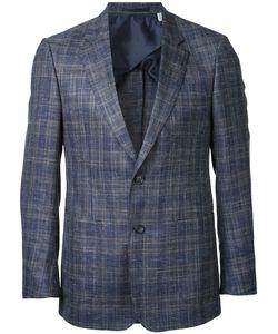 Cerruti | 1881 Woven Check Blazer Size 52