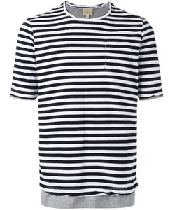 Wooster + Lardini   Striped T-Shirt Size Large