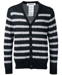 Anrealage | Striped Cardigan