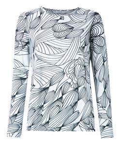 Isolda | Graphic Print Blouse Size 38