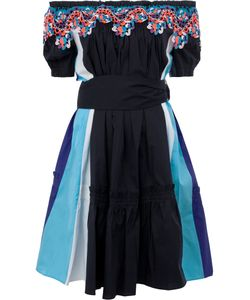 Peter Pilotto | Off-Shoulders Belted Dress