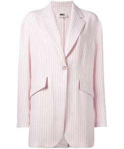 Mm6 Maison Margiela | Striped Blazer Size 42
