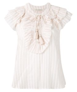 Ulla Johnson | Striped Ruffle Blouse