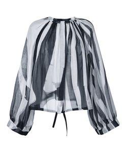 Ann Demeulemeester | Striped Blouse 36