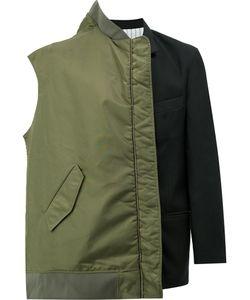 Moohong | Layered Bomber-Blazer Jacket Men 48