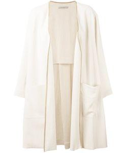 Dusan | Patch Pockets Open Coat Women