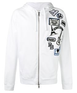 Pierre Balmain | Logo Patch Zipped Hoodie Size