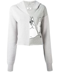 Aalto   Moomin Print Hoodie Size