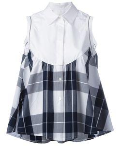 I'M Isola Marras | Checked Ruffled Shirt 42 Cotton/Viscose/Polyester