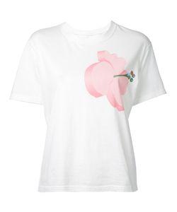 Julien David | Flower Print T-Shirt Size Medium