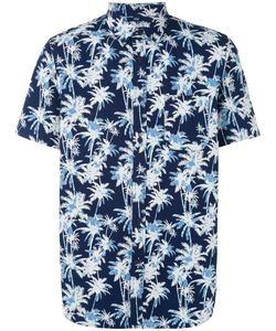 Edwin | Palm Tree Print Shirt