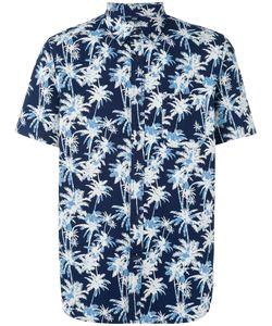 Edwin   Palm Tree Print Shirt