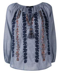 Steffen Schraut | Embroidered Sequin Blouse Size 40