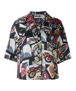 Hache   Bike Print Shirt 42