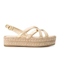 Prada | Platform Sole Sandals Size 35.5