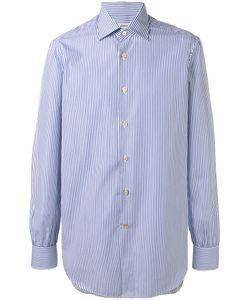 Kiton   Striped Shirt Size 40