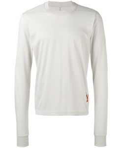Rick Owens DRKSHDW | Ribbed Trim Long Sleeve Top Size Small