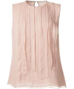 Jason Wu | Stitched Panel Tank 6 Silk