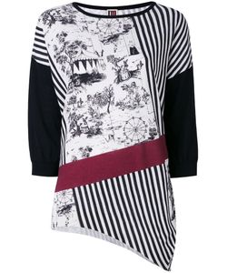I'M Isola Marras | Patterned Asymmetric Jumper