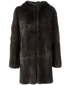 Liska   Hooded Coat Size Medium