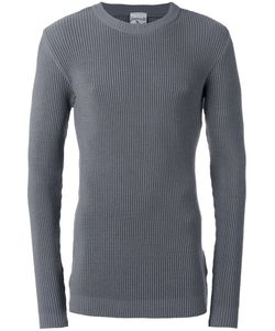 S.N.S. Herning | Carbon Crew Neck Jumper Large Cotton/Spandex/Elastane