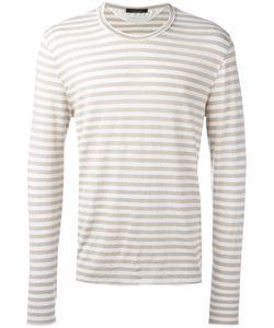 Roberto Collina | Long Sleeve Striped T-Shirt
