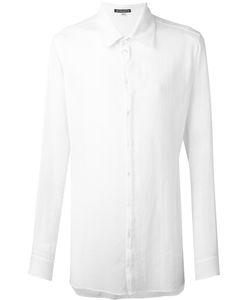 Ann Demeulemeester Blanche   Longline Shirt Small